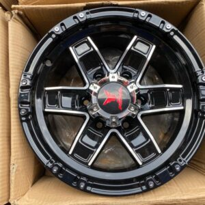 15″ A15034 Fast & Furious Mags 6Holes pcd 139 Bnew mags