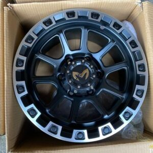15″ MAS Wheels Black face QC1508 Mags 6Holes pcd 139 bnew
