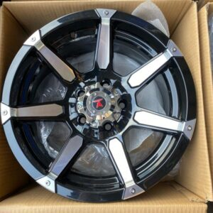15″ Code 15065 Fast & Furious Mags 5Holes pcd 114 bnew