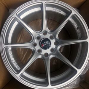 15″ XXR silver stance mags 4Holes pcd 100-114 x8 offset 25
