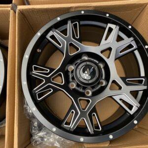 17″ Extreme wheels DXW029 Mags 6Holes pcd 139 MatteBlack color