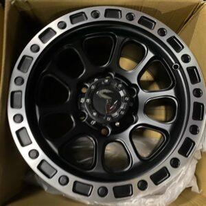 15″ Mas wheels QC5107 6Holes pcd 139 Black face bnew mags
