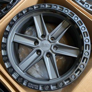 20″ Blackrhino Henderson Gunblack 6Holes pcd 139 magwheels
