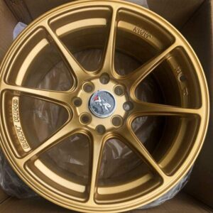 15″ XXR Gold stance mags 4Holes pcd 100-114 x8 offset 25