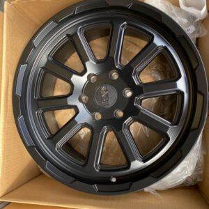 17″ Blackrhino Chase Black 6Holes pcd 139 magwheels