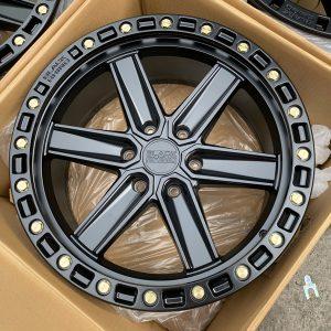 20″ Blackrhino Henderson Black 6Holes pcd 139 magwheels