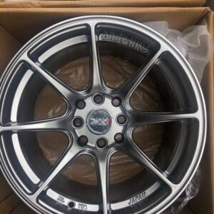 15″ XXR Hyperblack stance mags 4Holes pcd 100-114 x8 offset 25