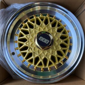 14″ BBS RS Gold Bnew Mags(4H-PCD100-114)