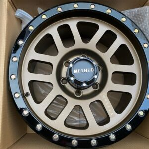 17″ Method 1003C Bronze mags 6Holes pcd 139 Bnew