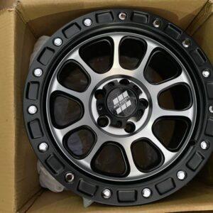 15″ Mas wheels QC1507 Machine face 5Holes pcd 114 Bnew
