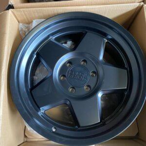 17″ Blackrhino Realm GunBlack 6Holes pcd 139 magwheels