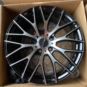 17″ ACW wheels Mesh code 1325 Black Polish Mags 5Holes pcd 112