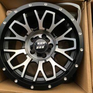 15″ Mas wheels QC1510 polish 5Holes pcd 114 Bnew mags