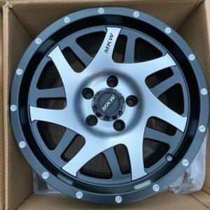 15″ MK wheels QC1509 5Holes pcd 114 Machine face mags