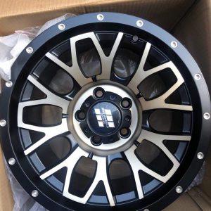 15″ Mas wheels QC1510 Bronze 5Holes pcd 114 Bnew mags