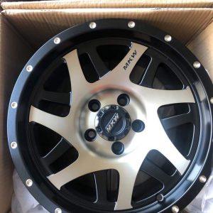 15″ MK wheels QC1509 5Holes pcd 114 Bronze face mags