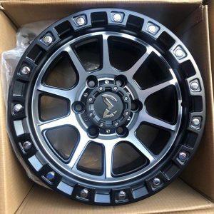 15″ MAS Wheels Machine face QC1508 Mags 6Holes pcd 139 bnew