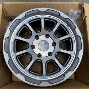 17″ Blackrhino Chase gunmetal 6Holes pcd 139 magwheels