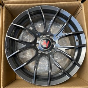 16″ Fast&Furious A16008 Mags Gunmetal 4Holes pcd 100-114 Bnew