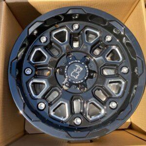 17″ Blackrhino Hollister 6Holes pcd 139 magwheels