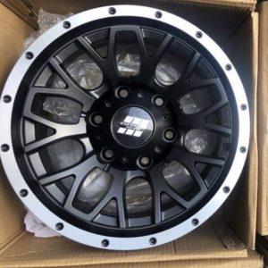 15″ Mas wheels QC1510 Black 6Holes pcd 139 Bnew mags