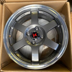 15″ Fast & Furious A15050 4Holes pcd 100 Gunmetal mags