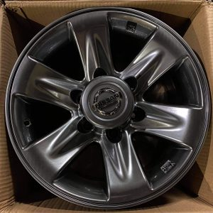 16″ Nissan Patrol Mags code 16612xH Bnew 6Holes pcd 139