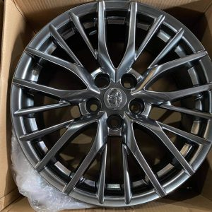 18″ Toyota mesh code B08 Mags 5Holes pcd 114 Hyperblack bnew