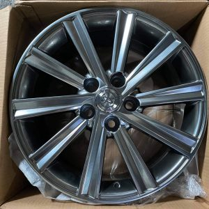 17″ Toyota Multispoke camry design code A110 mags 5Holes pcd 114 Hyperblack