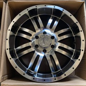 5pcs 20″ Vdrive A117 MB Wheels mags 6Holes pcd 139 Bnew