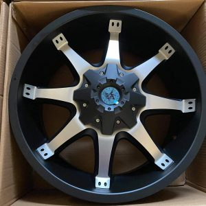 20″ Deputy A300 American Outlaw mags 6Holes pcd 139 Bnew
