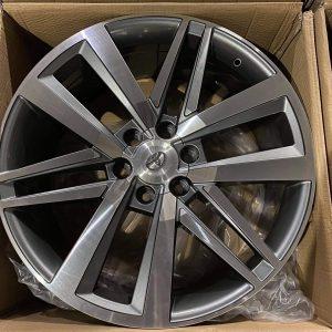 22″ Fortuner 4th gen design code B17 Magwheels 6Holes PCD139 Brandnew Gunmetal