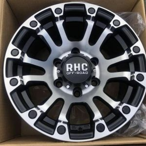"15"" RHC offroad P5299 polish bnew mags 6holes pcd 139"