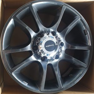 17″ Sidetrip Hyperblack Concept One Mags 6Holes pcd 139 fit for Van