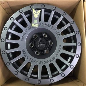 18″ Beast 1908P Gray Mags 6Holes pcd 139 Bnew orig