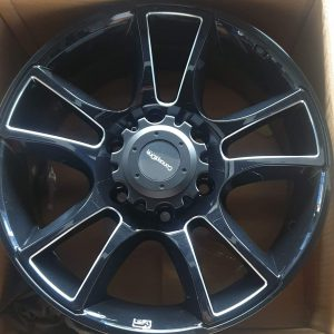 17″ Sidetrip black Concept One Mags 6Holes pcd 139 fit for Van