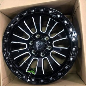 18″ Beast 9605 Mags 6Holes pcd 139 GlossBlack