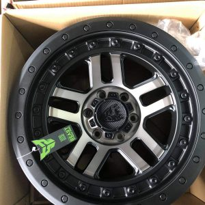 20″ Beast 9603 Mags Dark Tint 6Holes pcd 139 Bnew