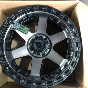 20″ Beast 9601 Dark Tint 6Holes pcd 139 Bnew mags