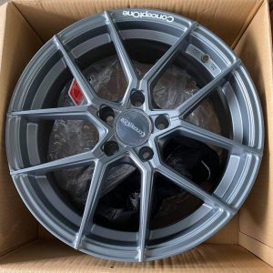 17″ Concept One Formula 8 Gray Mags 5Holes pcd 114 Bnew