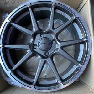 17″ Rota STW Gunmetallic 4Holes pcd 108 for ford ecosport