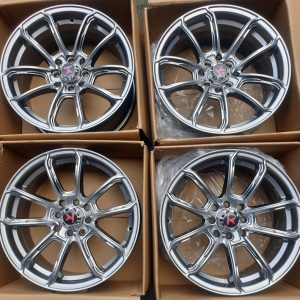 16″ Fast & Furious A16022 Mags 4Holes pcd 100-114