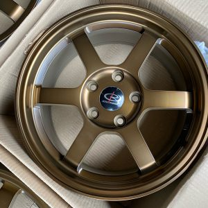 16″ Rota Grid Racing Sports Bronze 4Holes pcd 108 for ecosport bnew orig