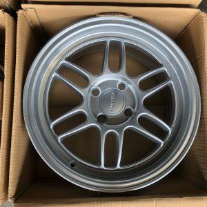 15″ Rota TFS3 Mags silver 4Holes pcd 100 Brandnew