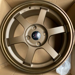 16″ Rota Grid Racing speed Bronze 4Holes pcd 108 for ecosport bnew orig