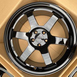 17″ Rota Grid2 Mags 5Holes pcd 100 fit altis and subaru Yamaha black color bnew orig
