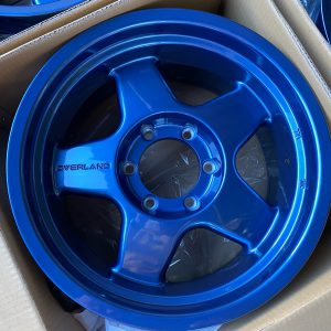 17″ Overland Rebel Blue Mags 6Holes PCD 139 Bnew