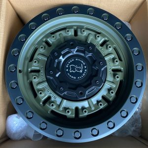 17″Blackrhino Abrams Green 6Holes pcd 139 Brandnew orig