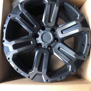 20″ Blackrhino Wanaka Magwheels 6Holes pcd 139 Bnew