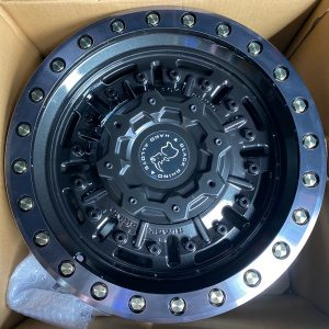18″ Blackrhino Abrams Black 6Holes pcd 114 for navara or terra Brandnew orig